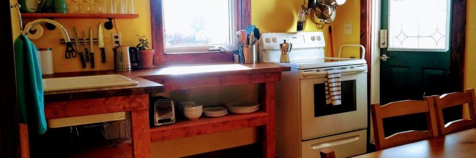 Full Kitchen Cape Breton Hotel